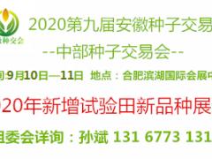 2020第九届中国安徽国际现代种子交易会